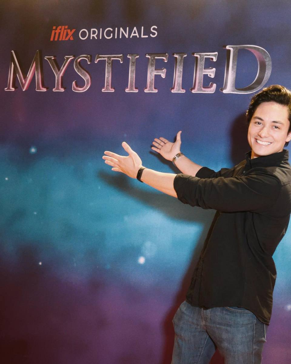 At the Iflix Movie Premiere of Mystified.